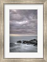 Stormy Beach Landscape, Cape May National Seashore, NJ Fine Art Print