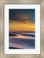 Sunrise On Winter Shoreline 1, Cape May National Seashore, NJ Fine Art Print