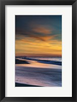 Sunrise On Winter Shoreline 1, Cape May National Seashore, NJ Fine Art Print