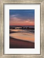 Sunrise On Winter Shoreline 4, Cape May National Seashore, NJ Fine Art Print