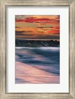 Sunrise On Winter Shoreline 5, Cape May National Seashore, NJ Fine Art Print