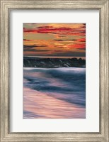 Sunrise On Winter Shoreline 5, Cape May National Seashore, NJ Fine Art Print