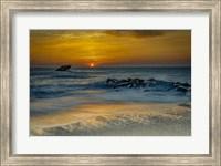 Sunrise On Ocean Shore 1, Cape May National Seashore, NJ Fine Art Print