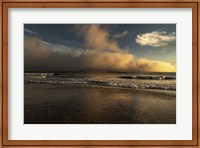 Sunrise On Ocean Shore 2, Cape May National Seashore, NJ Fine Art Print