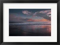 Sunset On Ocean Shore 3, Cape May National Seashore, NJ Fine Art Print
