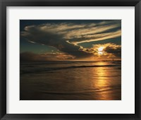 Sunrise On Ocean Shore 4, Cape May National Seashore, NJ Fine Art Print