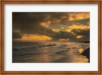 Sunrise On Ocean Shore 5, Cape May National Seashore, NJ Fine Art Print