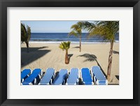 Stacked Beach Chairs, Monmouth Beach, NJ Fine Art Print