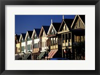 Row of Beach Homes, Cape May, NJ Fine Art Print