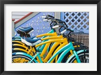 Bicycles in Front of a Porch, Cape May, NJ Fine Art Print
