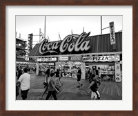 Coca Cola Sign - Boardwalk, Wildwood NJ (BW) Fine Art Print