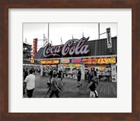 Coca Cola Sign - Boardwalk, Wildwood NJ Fine Art Print