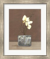 Orchids with Curly Willow Fine Art Print