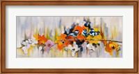Trio with Poppies Fine Art Print
