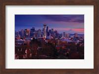Sunset Seattle Fine Art Print