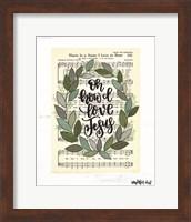 Oh How I Love Jesus Fine Art Print