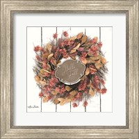 Hello Fall Wreath Fine Art Print