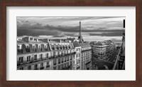 Morning in Paris (BW) Fine Art Print