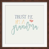 Grandma Inspiration I Color Fine Art Print