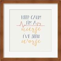 Nurse Inspiration II Color Fine Art Print