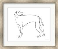 Ink Dog V Fine Art Print