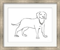 Ink Dog III Fine Art Print