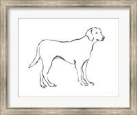 Ink Dog I Fine Art Print