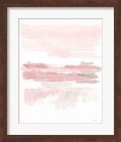 Blush Wetlands Crop Fine Art Print