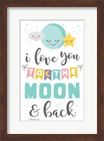 To the Moon and Back Fine Art Print