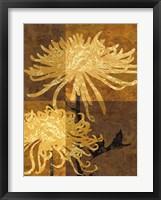 Golden Mums II Fine Art Print