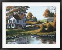 Along the Riverbank Fine Art Print