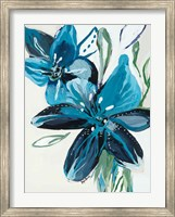 Flowers of Azure II Fine Art Print