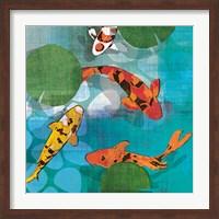 Lucky Koi II Fine Art Print