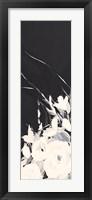 Black and White Floral I Fine Art Print