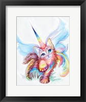 Cat-i-corn Fine Art Print