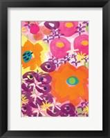Crowded Flowers III Fine Art Print