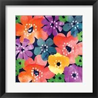 Crowded Flowers IV Fine Art Print