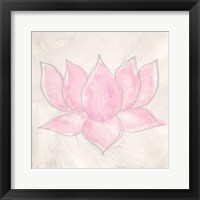 Pink Lotus II Fine Art Print