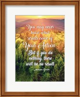 Gandhi Quote Fine Art Print