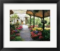 Paris Flower Market I Fine Art Print