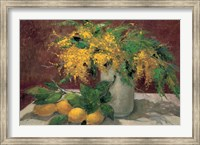 Mimosas y Limones Fine Art Print