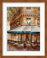 Cafe De Paris I Fine Art Print