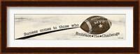 Football - Challenge Fine Art Print