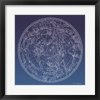 Constellations Map I Fine Art Print