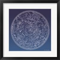 Constellations Map II Fine Art Print