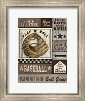 Baseball All Stars Fine Art Print