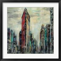 Manhattan Flatiron Building Fine Art Print