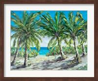 Tropical Palm Tree Paradise Fine Art Print