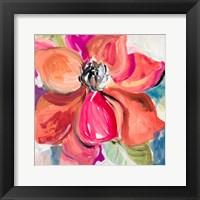 Living Coral Magnolia Fine Art Print