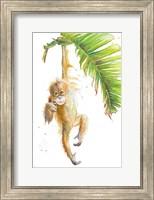 Monkeys in the Jungle I Fine Art Print